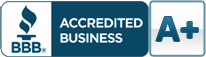 We are a BBB accredited business!