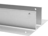 Full Height Aluminum Panel, Pilaster, Screen Two Ear Bracket