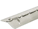 Full Height Stainless Steel Continuous Piano Hinge