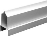 Aluminum 1.25 inch Headrail Over Pilaster Type