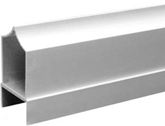 """Aluminum 1"""" Headrail Over Pilaster Type"""