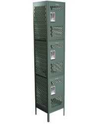 Three Tier Competitor Locker
