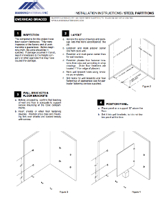 Metal & Stainless Steel Installation Instructions