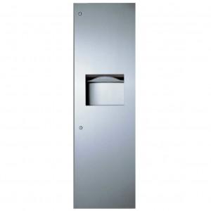 39003 Recessed Paper Towel Dispenser & Waste Receptacle