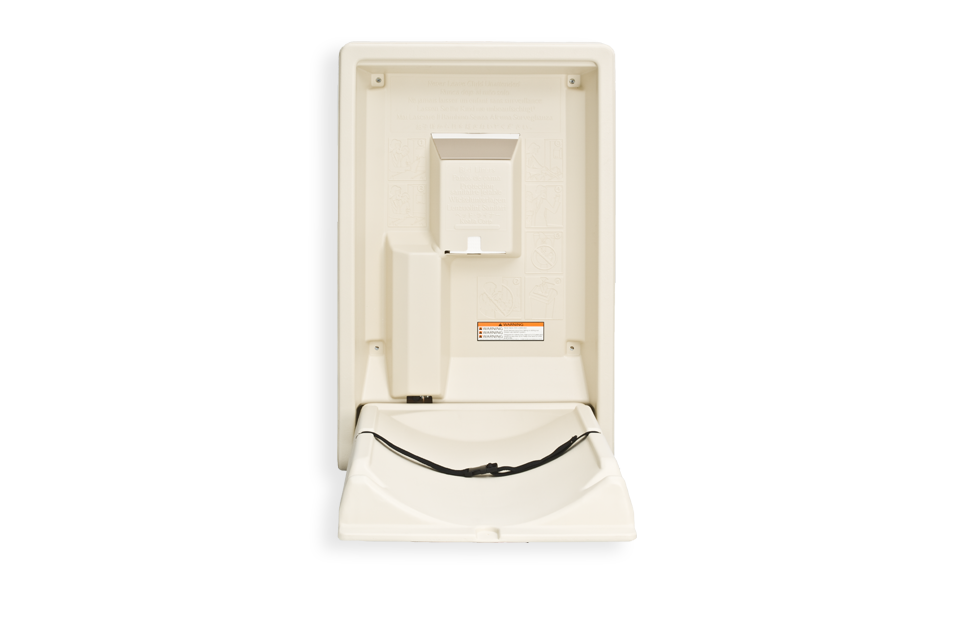 KB101 Baby Changing Station Open