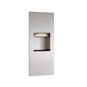 36903 Recessed Paper Towel/Waste Receptacle Combo