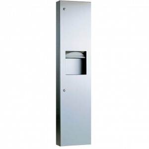 3803 Recessed Paper Towel Dispenser & Waste Receptacle