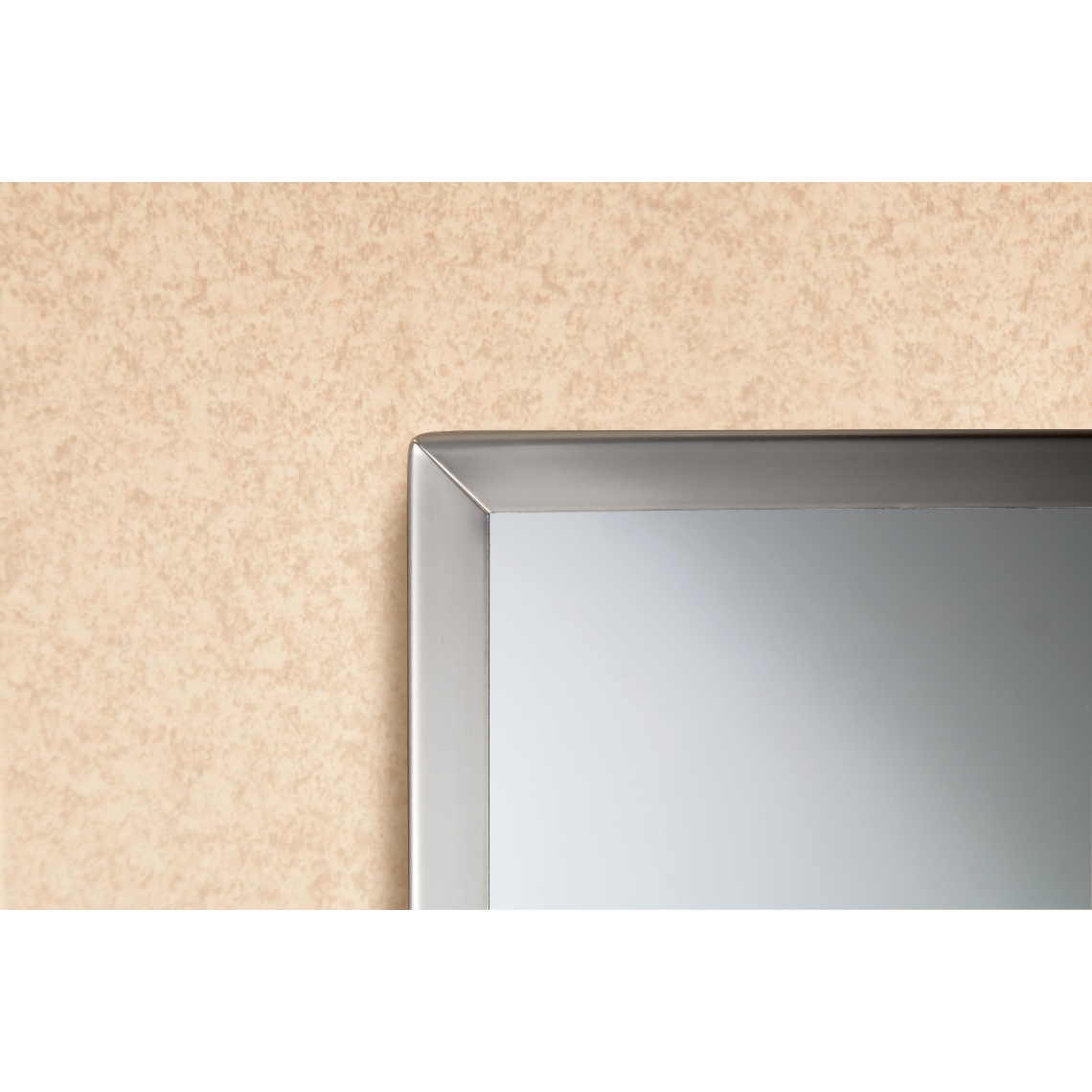 1658 Tempered Glass Channel Frame Mirror