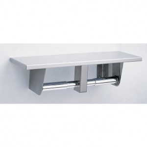 2840 Surface Mounted Toilet Paper Holder w/Shelf