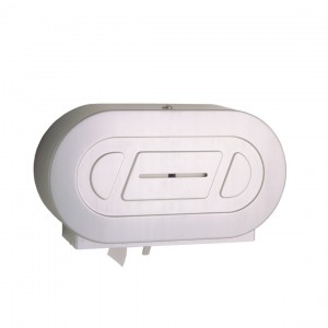 2892 Surface Mounted Twin Jumbo Roll Toilet Paper Holder