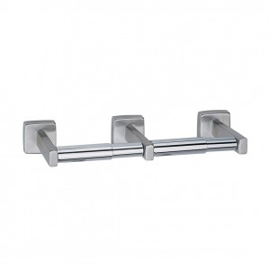 686 Surface Mounted Double Roll Toilet Paper Holder
