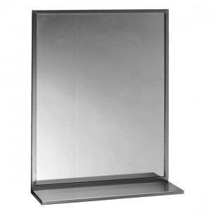 166 Channel Frame Mirror with Shelf